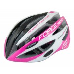 FORCE ROAD CASCO CICLO BLACK PINK WHITE 2016