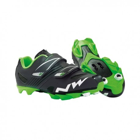 Zapatillas MTB NORTHWAVE HAMMER JUNIOR Niño Negro