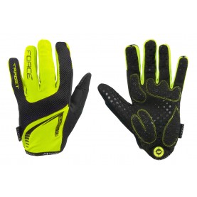 FORCE GLOVES MTB TARGET SUMMER FLUO