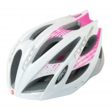 FORCE HELMET COBRA WHT/PINK/GREY