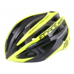 FORCE HELMET ROAD BLACK/FLUOR