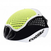 Casco Catlike Cloud 352 negro amarillo