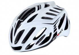 Casco Ciclismo Suomy Timeless Blanco-Negro