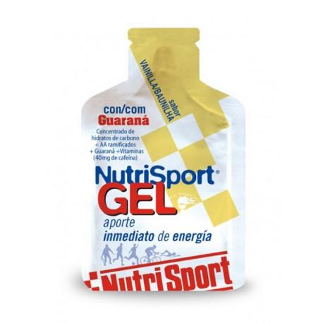 GEL NUTRISPORT GUARANA VAINILLA 40GRS.