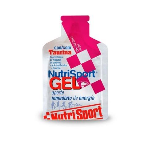 Nutrisport Gel + Taurina Cheesecake 24x40 gr.