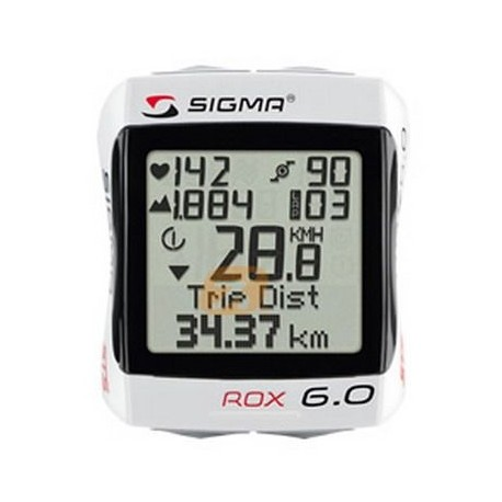 Cuentakilometros SIGMA ROX 6.0 CADENCIA