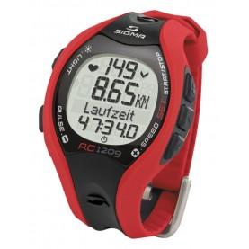 Pulsómetro Sigma RC 1209 rojo